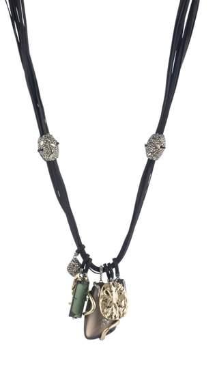 Alexis Bittar Lucite(R) Charm Necklace