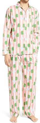 Sant and Abel Sant & Abel Men's Coral Beach Print Pajamas