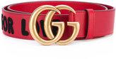 Gucci 'GG' embellished belt - women - Leather - 90