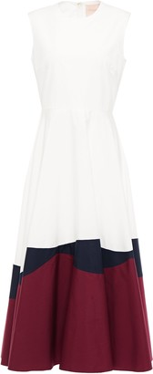 Roksanda Cotton-poplin Midi Dress