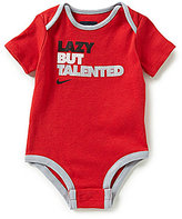 Nike Baby Boys Newborn-12 Months Lazy But Talented Bodysuit