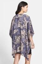 Kirious Print Woven Kimono Jacket (Juniors)