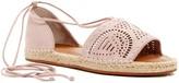 Susina Gretchen Laser-Cut Sandal