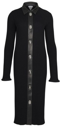 Bottega Veneta Midi merino cotton dress