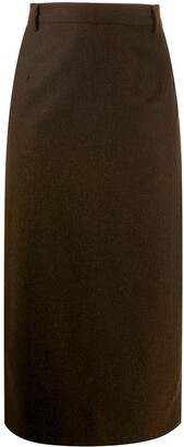 Ballantyne 1990's midi pencil skirt