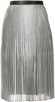 AKIRA NAKA Layered Pleated Skirt