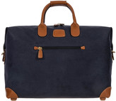 Bric's Life Clipper Holdall - Blue/Tan - Small
