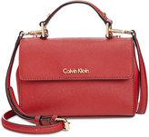 Calvin Klein Saffiano Leather Crossbody