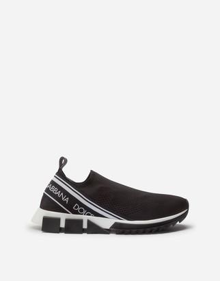 Dolce & Gabbana Stretch Mesh Sorrento Sneakers