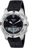 Tissot Men's T-Touch Chronograph Dial Watch Black T0474201705100