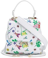Patrizia Pepe Embroidered Floral Tote Bag
