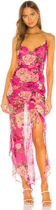 Lee SAU Fredia Silk Dress