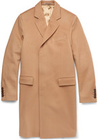 Gucci Single-Breasted Lightweight Wool Overcoat