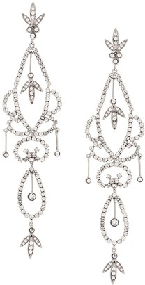 Christian Dior X Susan Caplan 1998 Archive Chandelier Clip-On Earrings