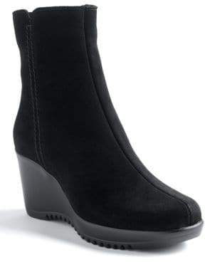 La Canadienne Greson Suede Wedge Boots