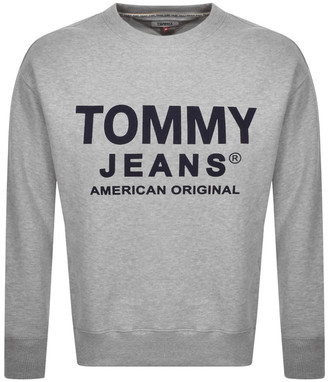 Tommy Jeans Essential Sweatshirt Grey