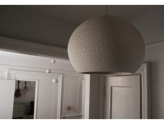 Bloomsbury Market Newmanstown 1 - Light Single Dome Pendant Perforation Pattern: Lines