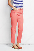 Classic Women's Petite Not-Too-Low Rise Ankle Jeans-Pink Flamingo