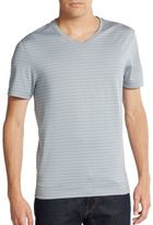 Robert Barakett Malcolm V-Neck Pima Cotton Tee