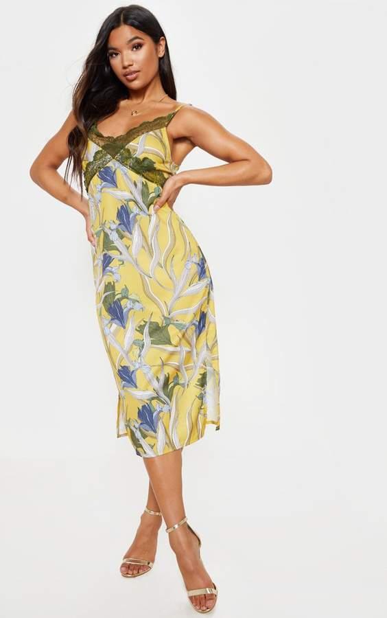 c2911ebd99aa Mustard Lace Dress - ShopStyle UK