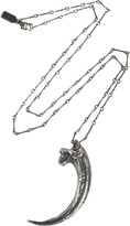 Pamela Love Sterling silver eagle claw necklace