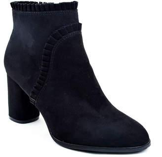 NEW YORK TRANSIT New York Transit Womens Rheba Spool Heel Booties