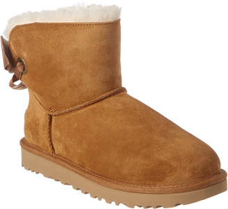 UGG Women's Customizable Bailey Bow Mini Suede Boot