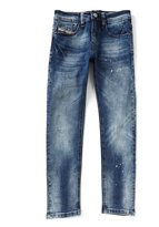 Diesel Big Boys 8-16 Waykee Splatter Straight-Leg Jeans
