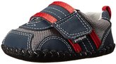 pediped Originals Adrian (Infant) - Navy/Grey/Red-XS (0-6 Months)