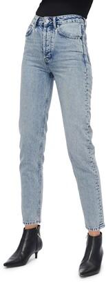 Anine Bing Sonya High Waist Slim Jeans