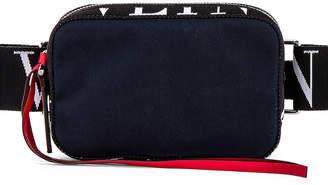 Valentino Crossbody Bag in Marine & White & Black   FWRD