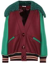 Miu Miu Virgin wool bomber jacket