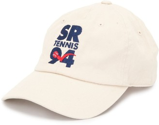 Sporty & Rich Embroidered Logo Cap
