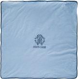 Roberto Cavalli monogrammed blanket