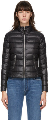 Mackage Black Down Lightweight Reema Coat