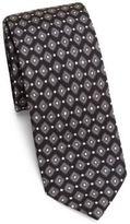 Dolce & Gabbana Diamond Pattern Silk Tie