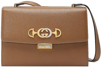 Gucci Zumi Box Shoulder Bag in Taupe | FWRD