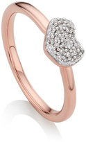Monica Vinader Nura Mini Heart Ring
