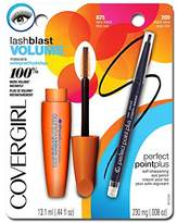 Cover Girl LashBlast Volume Water Resistant Mascara and Perfect Point Plus Eye Pencil Black Onyx ( .008 oz) Value Pack