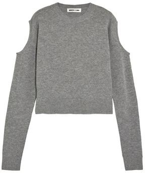 McQ Cutout Wool And Cashmere-blend Sweater