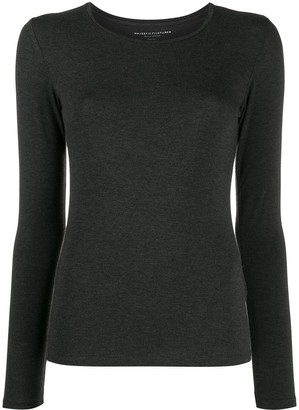 Majestic Filatures fine knit jumper