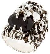 Gucci Lion Head & Swarovski Ring