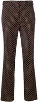 Etro embroidered tailored trousers - women - Polyamide/Spandex/Elastane/Viscose - 40
