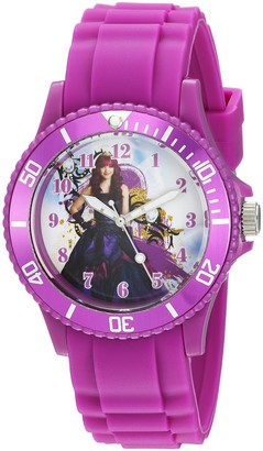 Disney Women's Descendants 2 Analog-Quartz Watch with Plastic Strap