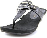 Anne Klein Kita Women US 11 Black Thong Sandal