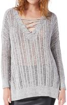 Michael Stars Lace Up Tunic