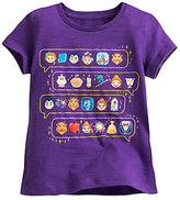 Disney Beauty and the Beast Emoji Tee for Girls
