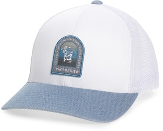 Travis Mathew Golden Snapper Trucker Hat