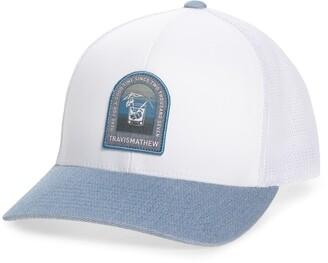 Travis Mathew Golden Snapper Trucker Hat
