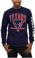 Junk Food Clothing Men's Houston Texans Nickel Formation Long Sleeve T-Shirt